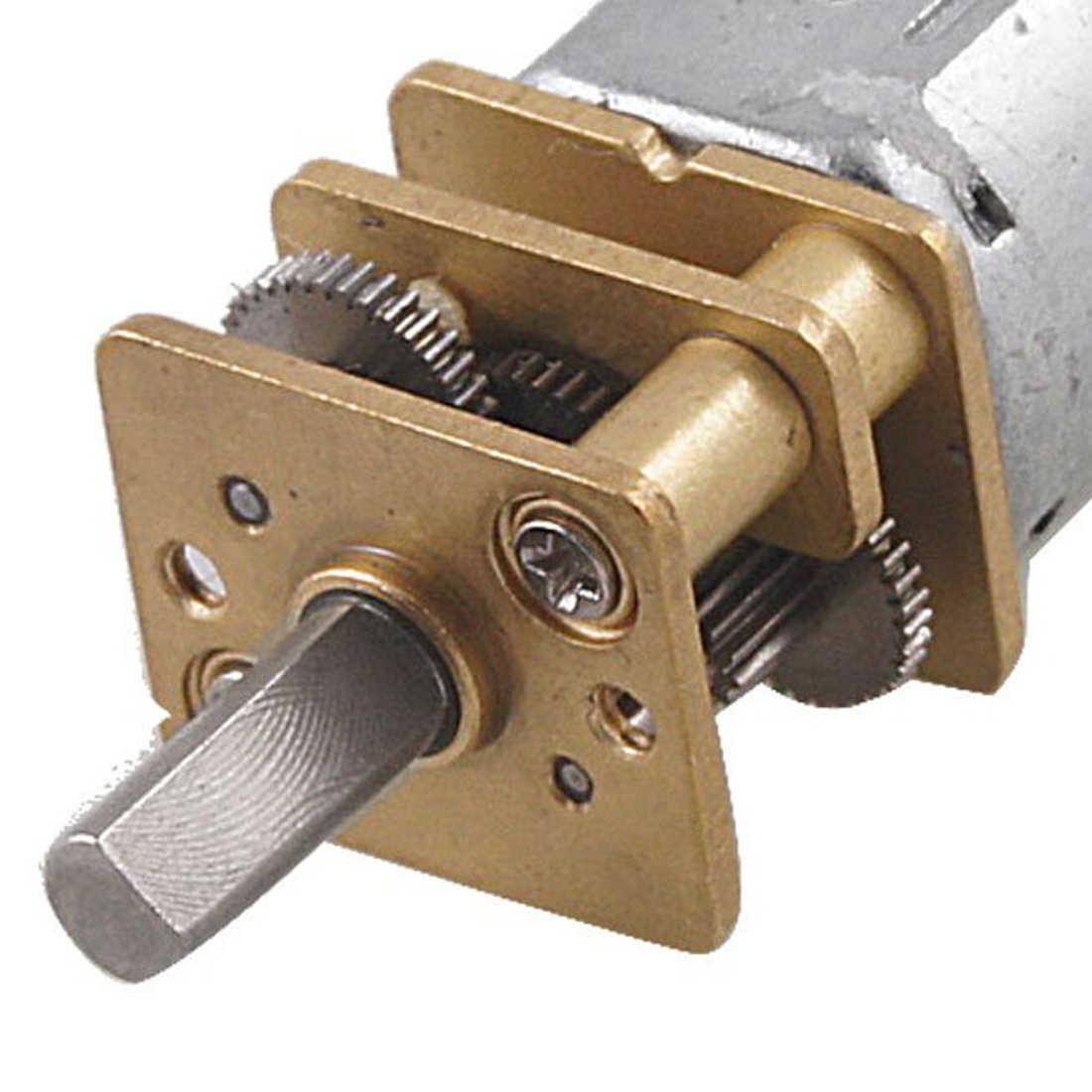 Акция! 60 об/мин 6В 0.3A высокий крутящий момент мини Электрический DC мотор-редуктор для робота DIY