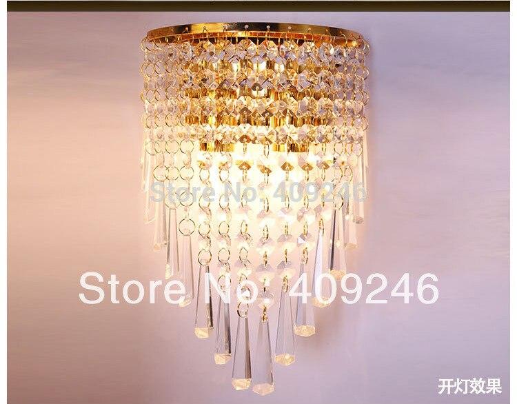 Lampadario Rosa Cristallo : Cristallo k sala della parete camera da letto illuminazione