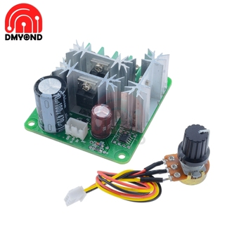 DC 6V-90V 15A Pulse Width PWM 15khz Frequency Motor Speed Control Controller Switch Drehzahlregler Schalter Board Module With image