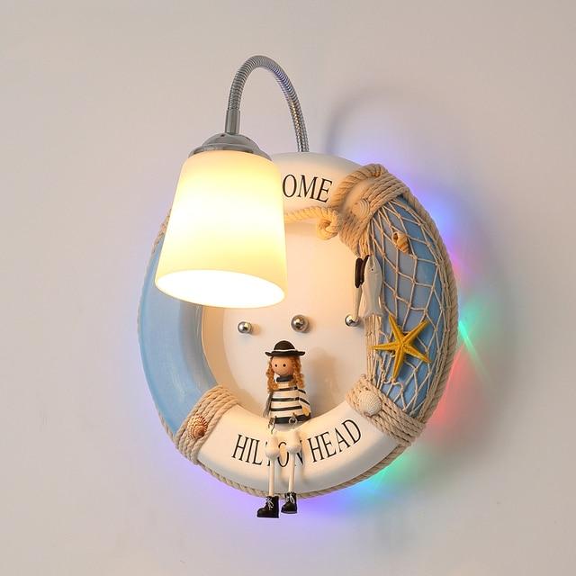 Cute Cartoon Creative Children Wall Lamps Lights Bathroom Bedroom Light Led  Wall Lights For Home Industrial