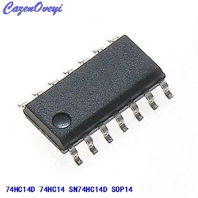 10pcs/lot SN74HC14D 74HC14D 74HC14 SOP-14 In Stock