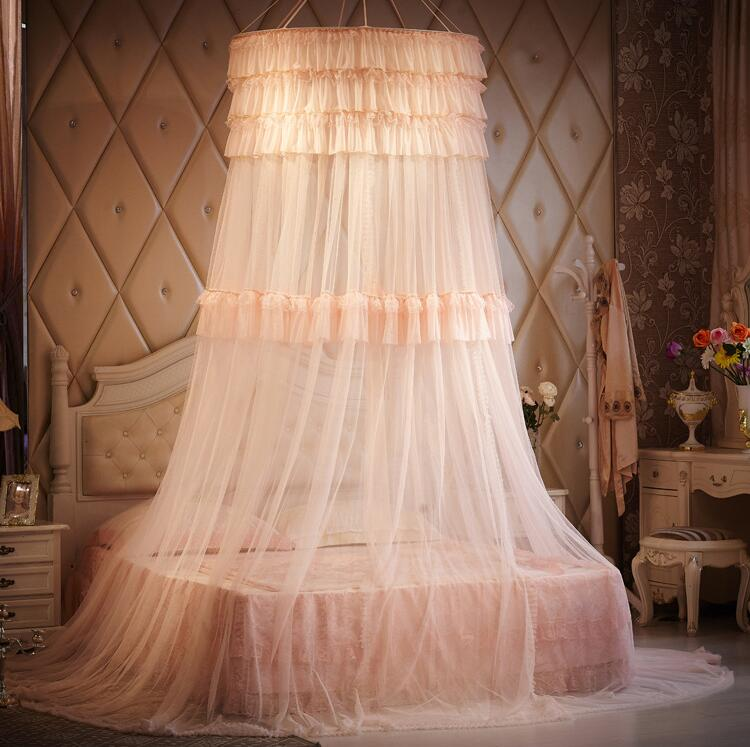 Luxury Brand Mosquito Net Double Bed Princess Palace Style