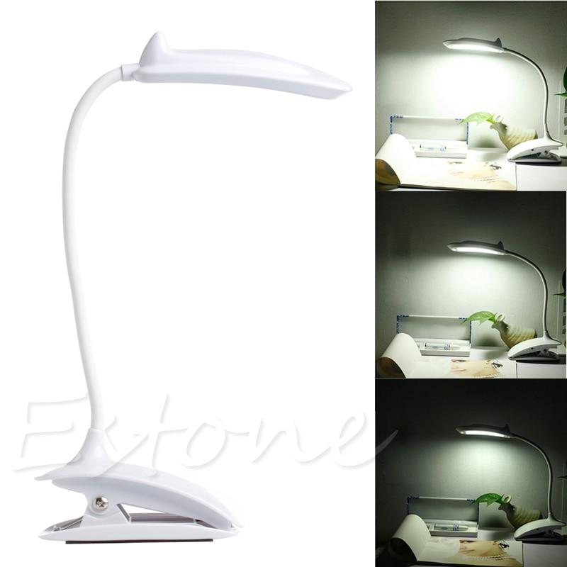 Clip On Flexible Reading Touch Sensor Light Bulb 18 LED Light USB Bed Desk Lamp clip on 10 led usb light flexible gooseneck reading touch desk table lamp
