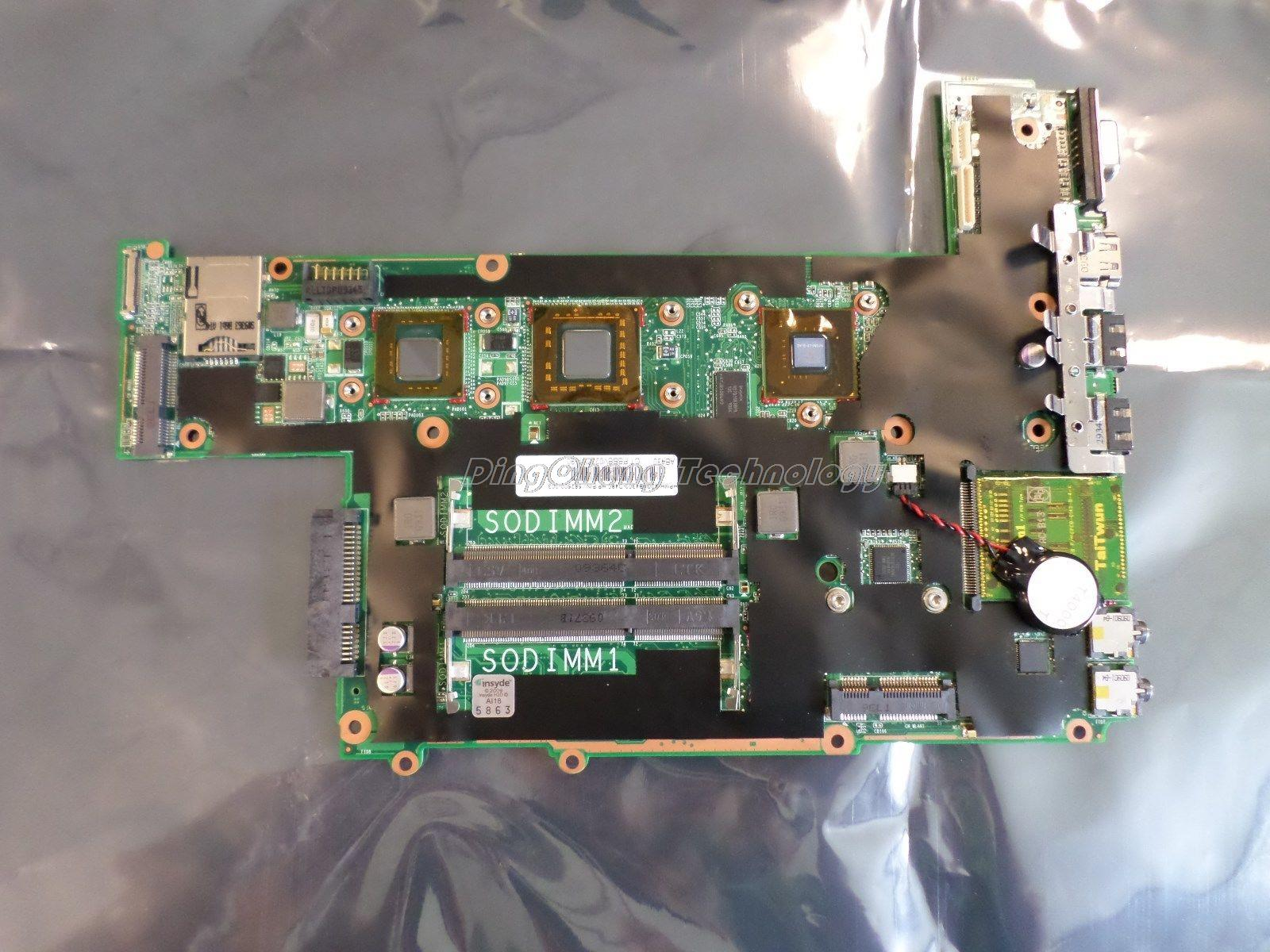 SHELI laptop Motherboard For hp DM3 580662-001 for intel SU4100 cpu GF105M/512M integrated graphic card DDR3 100% tested