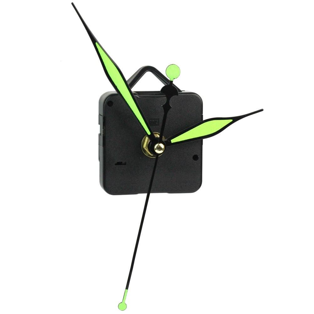 Luminous Grow in the Dark Hands DIY Quartz Clock Spindle Movement Mechanism Kit