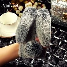 Luxury Rabbit hair For Lenovo Vibe B C A2016 A1010 A Plus P1M A2010 A2020 A5000 A7000 A536 K6 Power Plus Note K53a48 Cover все цены
