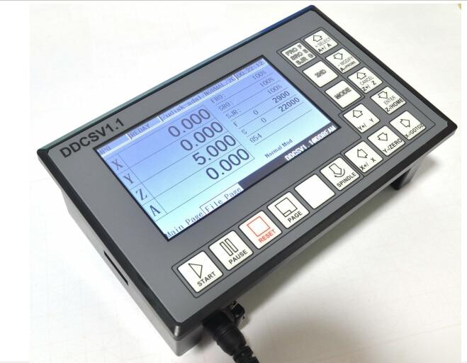 DDCSV1 / 4 axis 4 linkage  motion controller  / stepper motor and servo motor / NC / engraving machine /   CNC offline монитор 19 aoc e970swn tn led 1366x768 5ms vga