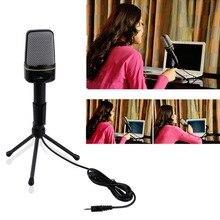 3.5mm Wired Estudio Wholeslae Capacitiva Plug and Play SF-920 Micrófono Para Ordenador