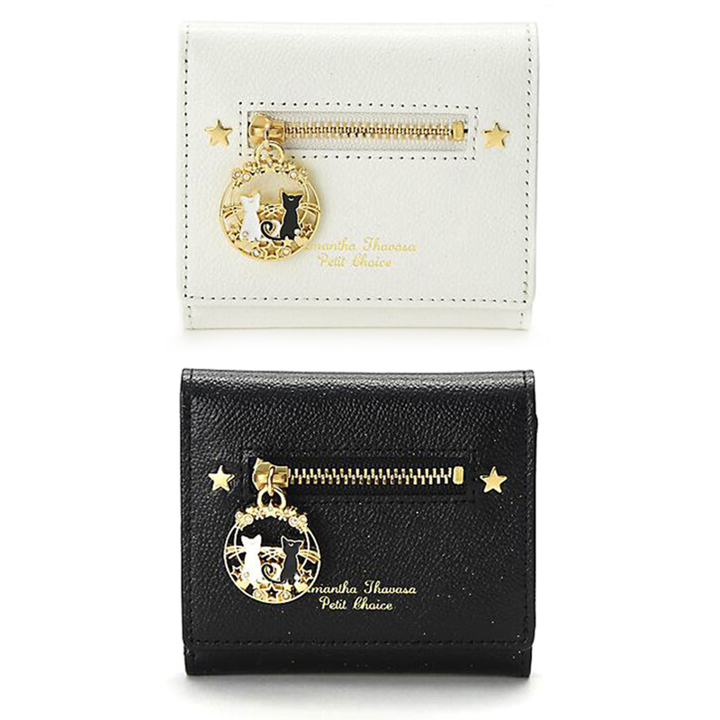 anime Sailor Moon 25th anniversary Luna or Artemis Mini Wallet purse
