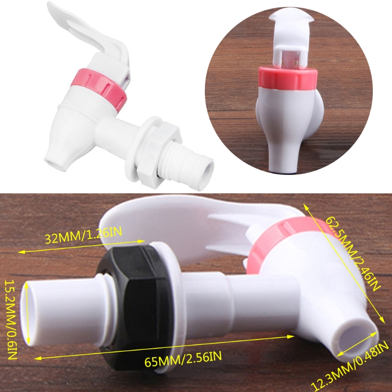 Universal Size Push Type Plastic Hot Water Dispenser Faucet Tap Replacement Part