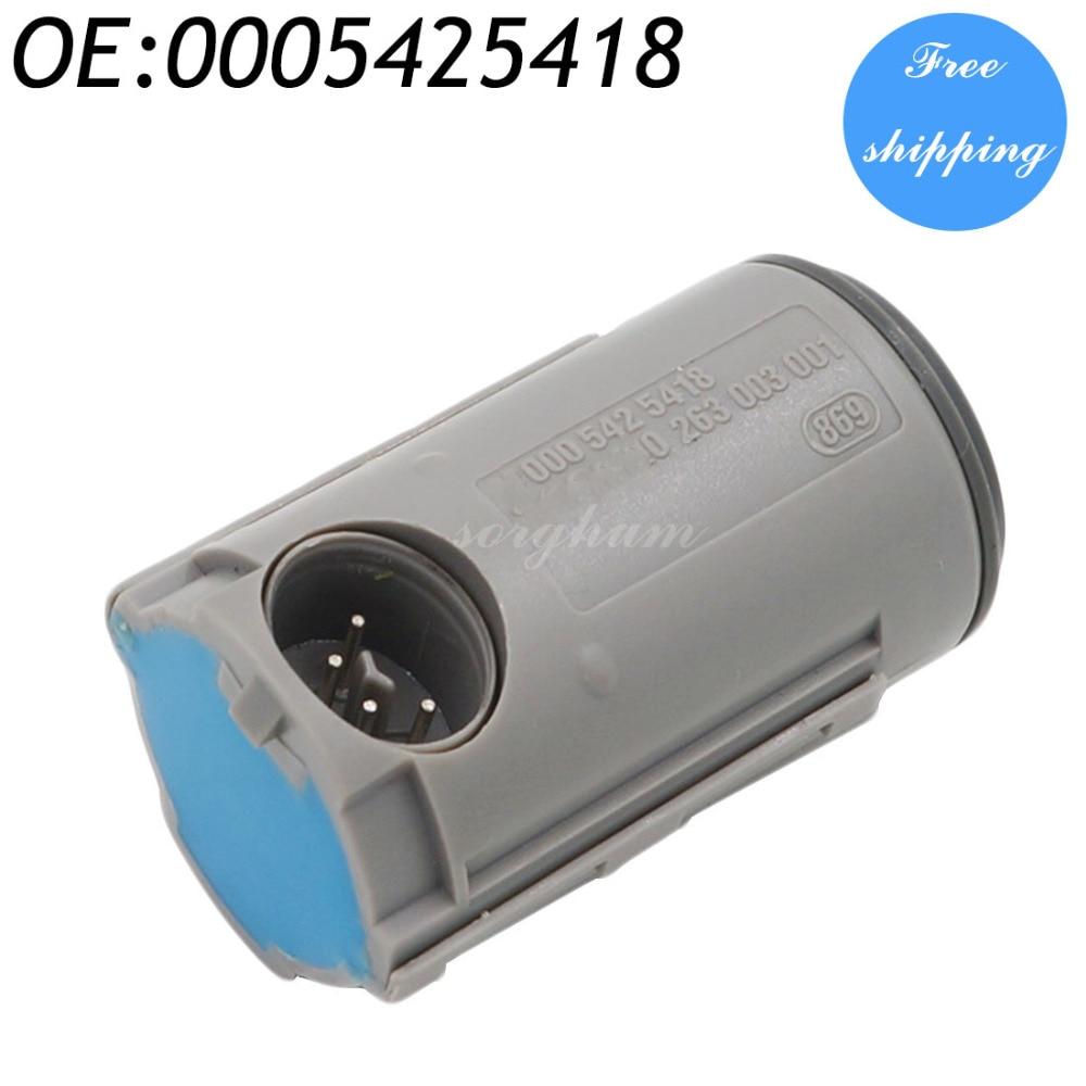 1PCS FOR MERCEDES C E S Klasse CLK W210 W140 W202 W208 Parkeringssensor PDC 0005425418