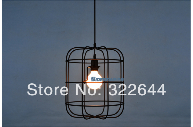 Brief Flavor La Lamp Cage Cages Pendant Light One Piece Aslo For Whole In Lights From Lighting On Aliexpress Alibaba Group