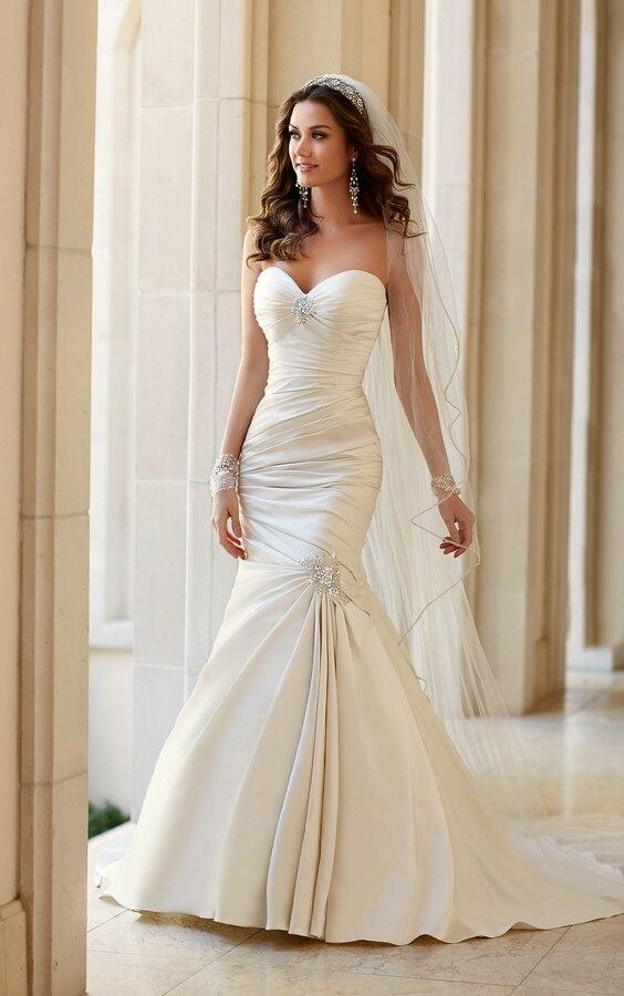 Hot selling bridal gowns mgw5980 vestido de festa elegant for Selling a wedding dress online