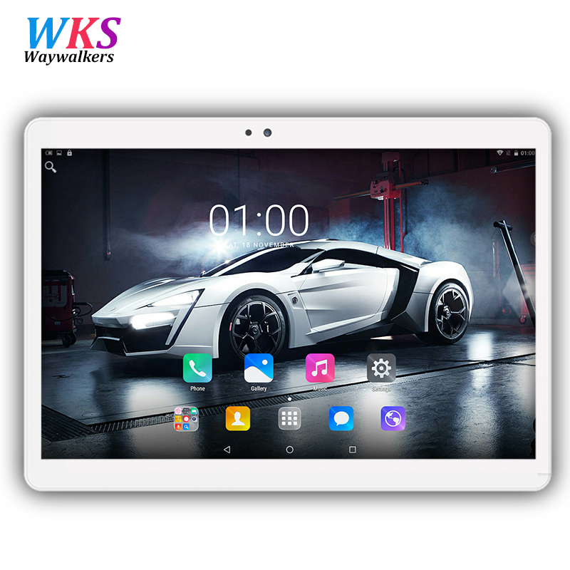 Sales promotion Waywalkers 10.1 inch Android 7.0 MT8752 tablet pc octa core 4G RAM 32/64G ROM 1920x1200 IPS 5MP Gift tablets pcs 你好 法语4 学生用书 配cd rom光盘