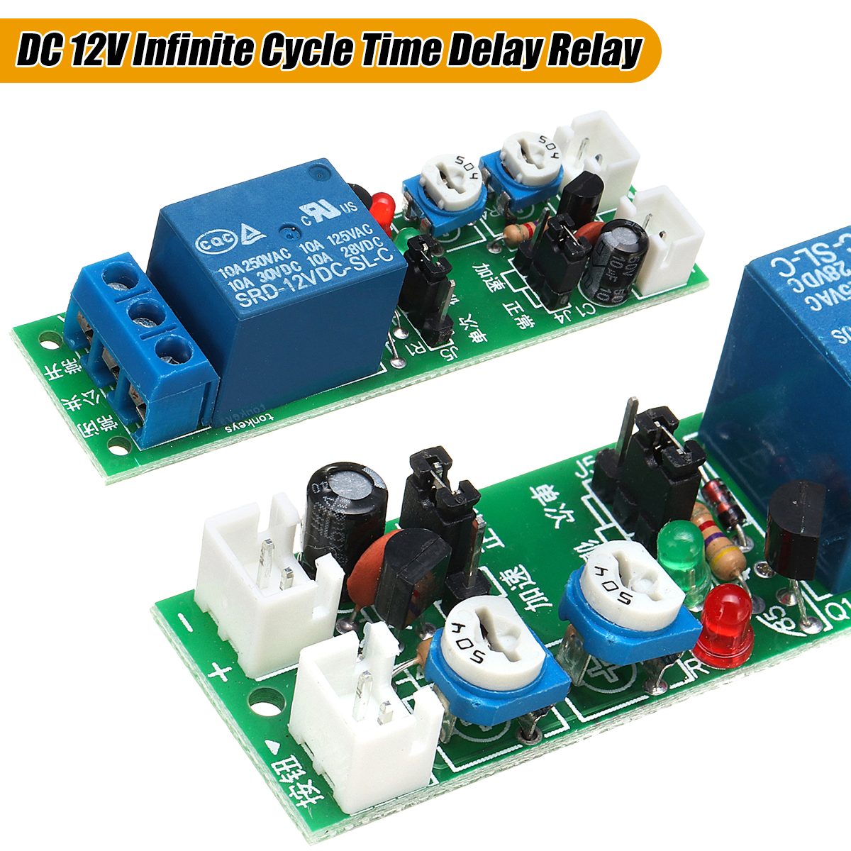 555 Timer Triggers Phasecontrol Circuit