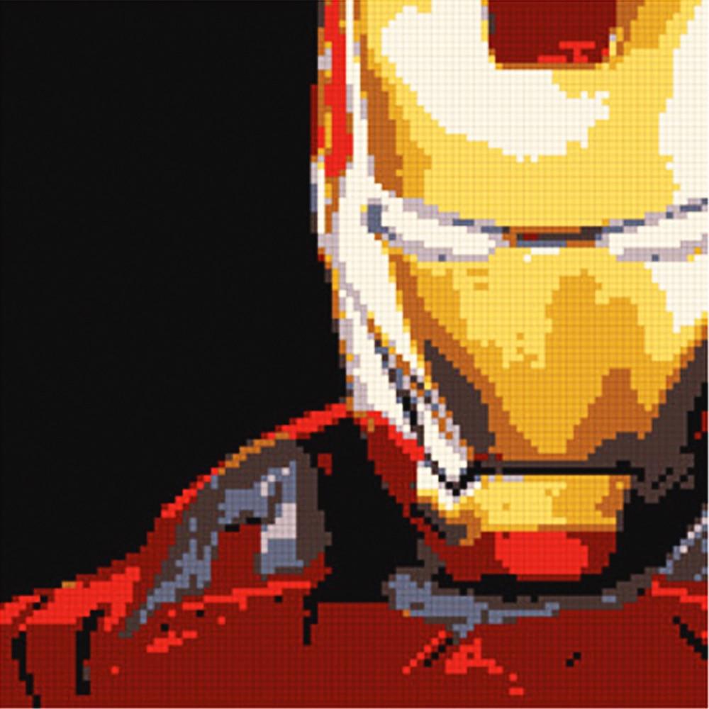 Ury MOC SET 5000+ հատ Սուպեր հերոսներ Iron Man - Կառուցողական խաղեր - Լուսանկար 3