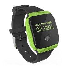 E07S Bluetooth Smart Armband Wasserdichte Schwimmen Schrittzähler Schlaf-monitor Fitness Tracker Armband für Android IOS smartwatch