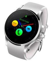 K88S Runde Bluetooth Smart Watch Phone GSM MTK2502C 128 MB Pulsmesser mit SIM einbauschlitz Smartwatch für iOS Android