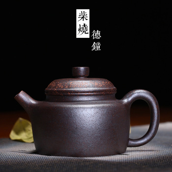 are recommended to burn purple sand tea set, clock pot pot of age handmade traditional process incoming sample custom