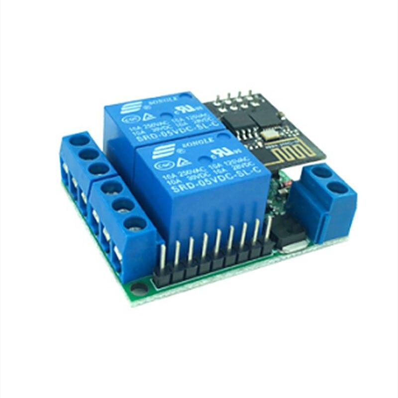 1 pièces croix-tableau E1 2 canaux moteur positif et négatif APP Mobile commutateur de contrôle à distance pour IoT smart home # Hbm0451