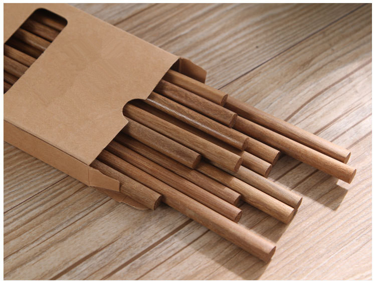 10pair lot Japanese Natural Wooden Bamboo Chopsticks Health Without Lacquer Wax Tableware Dinnerware Hashi Sushi Chinese MF 006 in Chopsticks from Home Garden