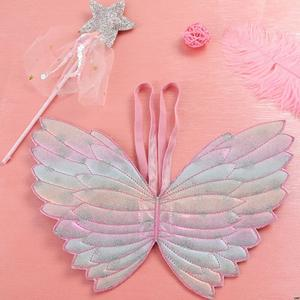 Costumes Angel-Wings Princess Playing-Toys Kids Children Cute Performance-Props Dress-Up