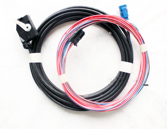 RCD510 RNS510 RGB Rear View Camera Harness Cable WIRE VW Volkswagen Passat Jetta Golf - XR2015 store