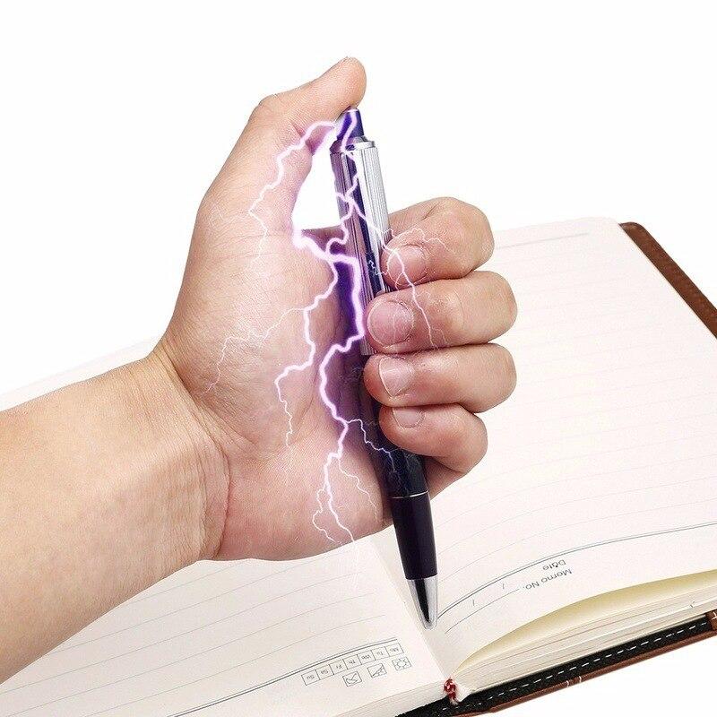 New Electric Shocker Pen Electricshock Joke Prank Trick Toy For Children Gift Electric Joke Toy Trick Shock Pen Gag Toys Funny