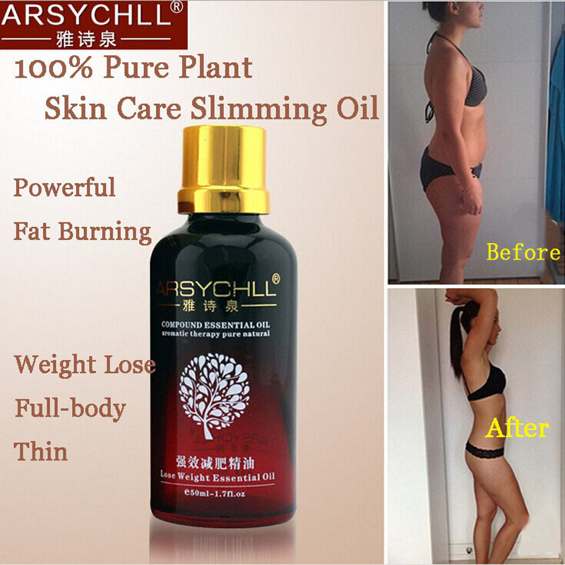 Potent Effect Lose Weight Essential Oils Thin Leg Waist Fat Burning Natural Safety Weight Loss Products Slimming Creams new 100% pure plant powerful fat burning slimming essential oil anti cellulite natural leg full body thin weight lose product