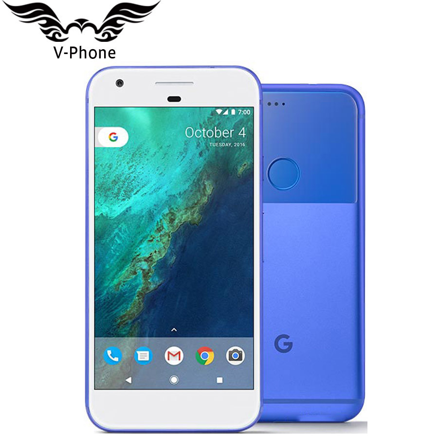 5 inch Google Pixel Mobile Phone Brand NEW Original 4GB RAM 32GB 128GB US Version Snapdragon Quad Core 4G LTE Android Smartphone-in Cellphones from Cellphones & Telecommunications    2