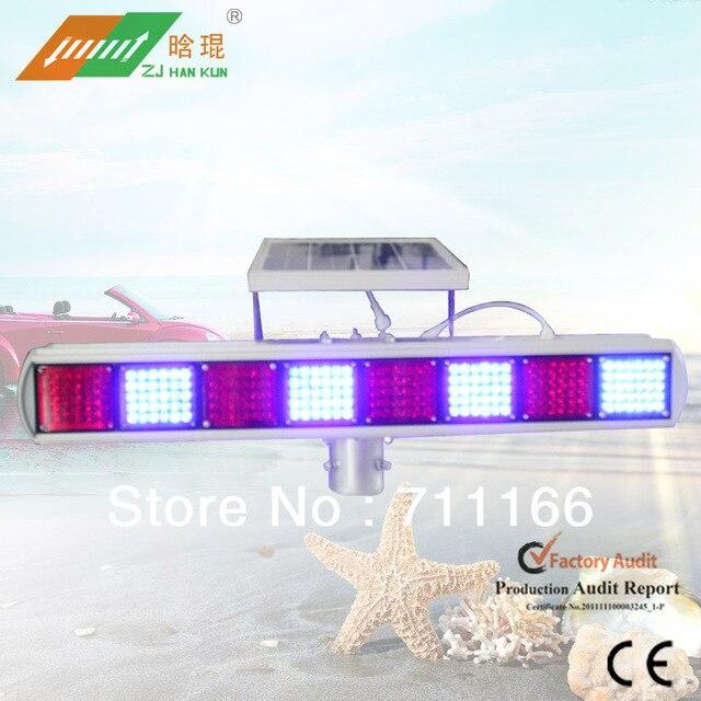 Solar Powered Warning flashing  Light HK-JB802