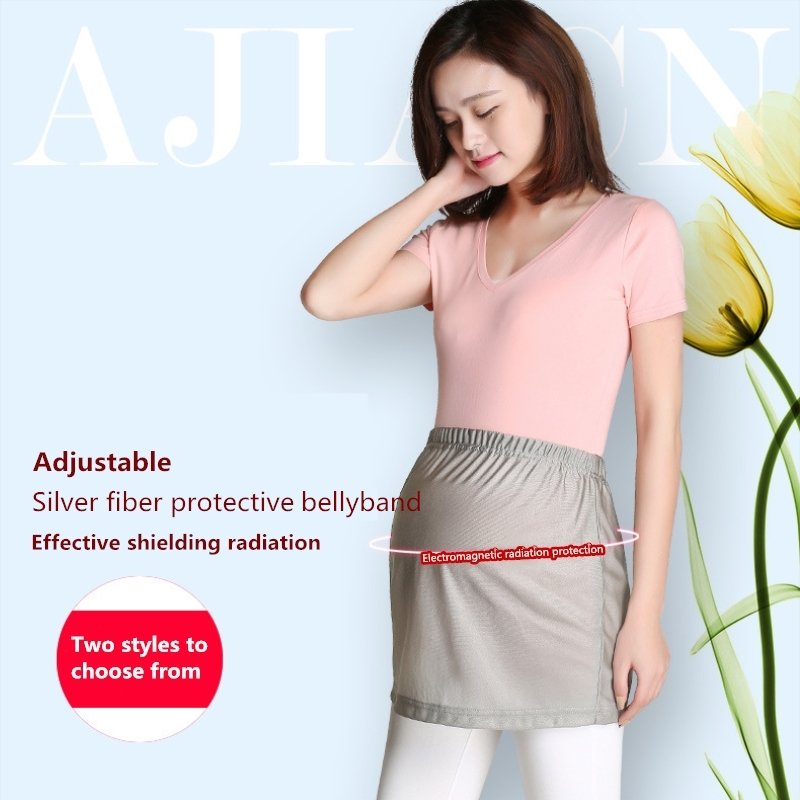 Pregnancy & Maternity Maternity Clothing 100% True Radiation Protection Suit Maternity Dress Pregnant Women Radiation Protection Clothes Four Seasons Sling Silver Fiber Pregnancy Exquisite Craftsmanship;