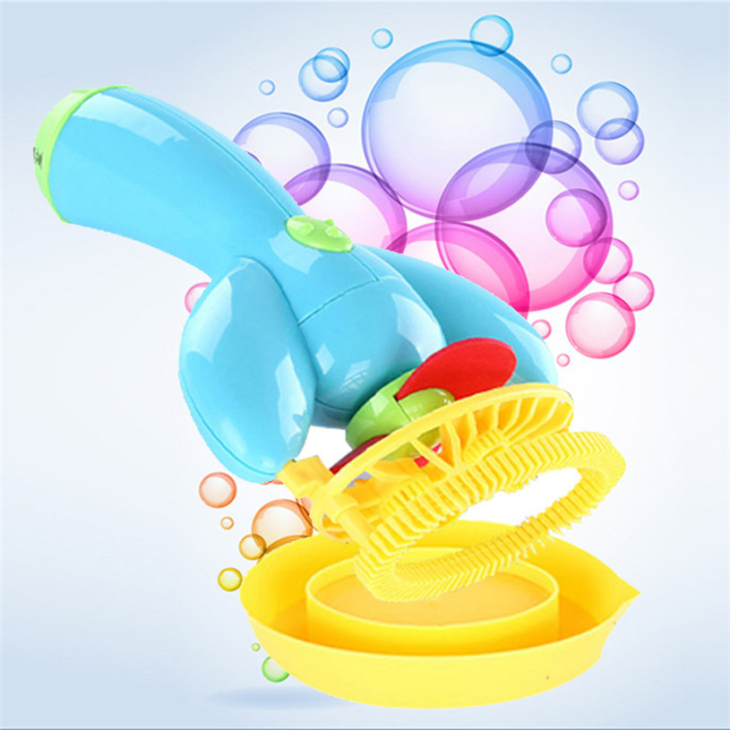 Electric Bubble Gun Bubble Blower Bubble Machine Bolle Sapone Water Gun Essential In Summer Outdoor Children Toys 30