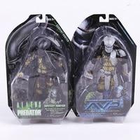NECA Alien vs. Predator Young Blood Predator / Serpent Hunter PVC Action Figure Collectible Model Toy 8 20cm