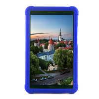 Étui pour Huawei MediaPad T3 8.0 KOB-L09/W09 en Silicone MingShore avec dragonne intégrée housse en caoutchouc pour Huawei T3 8 étui pour tablette