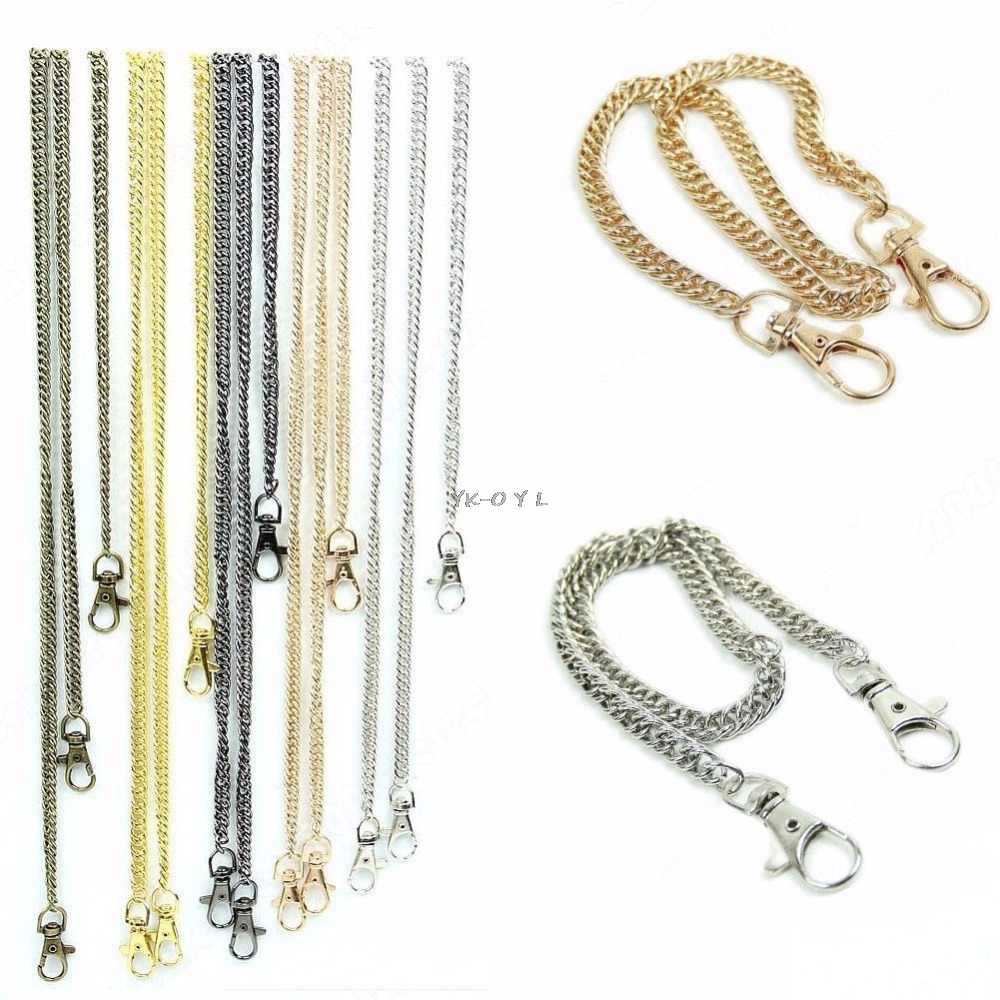 High Quality Purse Handbags Bags Shoulder Strap Chain Replacement Handle Hot 40cm