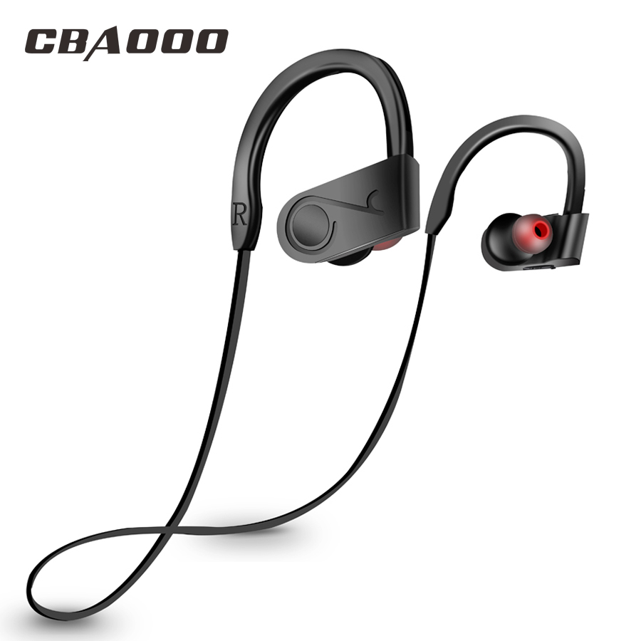 все цены на CBAOOO bluetooth earphone wireless bluetooth headphone Bass Stereo Sweatproof headphones Neckband Sports headphones with Microph