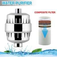 Wasserfilter Bad Dusche Filter Baden Wasser Filter Wasserfilter Behandlung Gesundheit Weichmacher Chlor Wasserfilter Set-in Wasserfilter aus Haushaltsgeräte bei