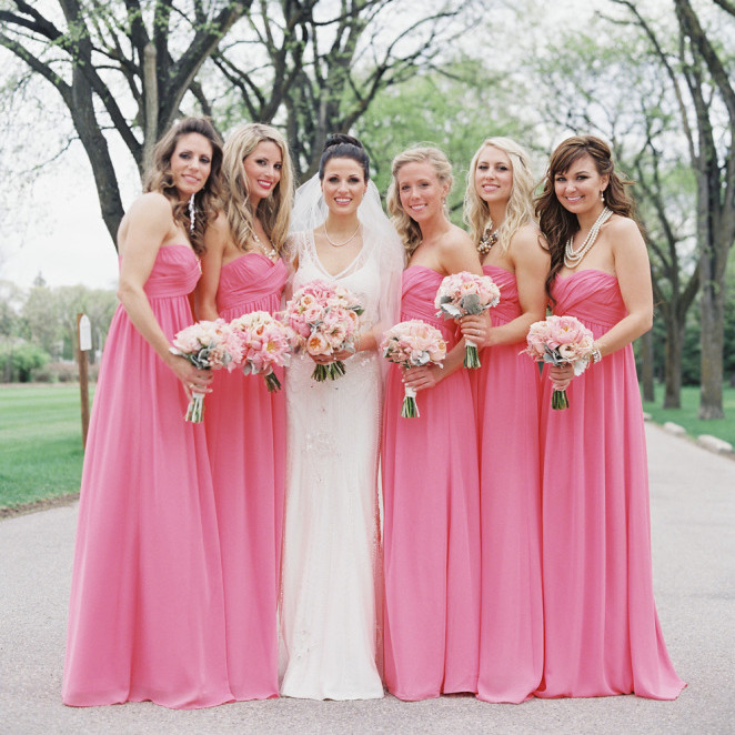 Country Pink   Bridesmaid     Dresses   2019 vestidos de fiesta de noche Sweetheart Maid Of Honor   Dress   Chiffon Wedding Guest Gowns