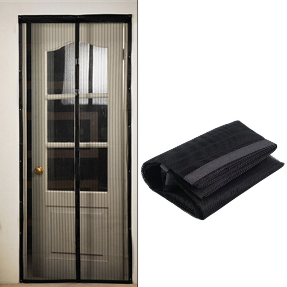 New Summer Magnetic Screen Doors Mosquito Net Anti mosquito Mesh Curtains Fits Door Automatic Closing-in Shower Curtains from Home u0026 Garden on ...  sc 1 st  AliExpress.com & New Summer Magnetic Screen Doors Mosquito Net Anti mosquito Mesh ...