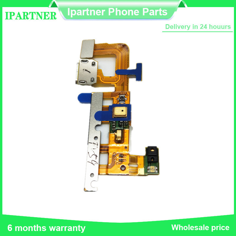 Ori Motor Vibrator Connetor Board For Huawei P6 Telecom Version Charger Port Dock Connector Cable Replacement Parts High Quality