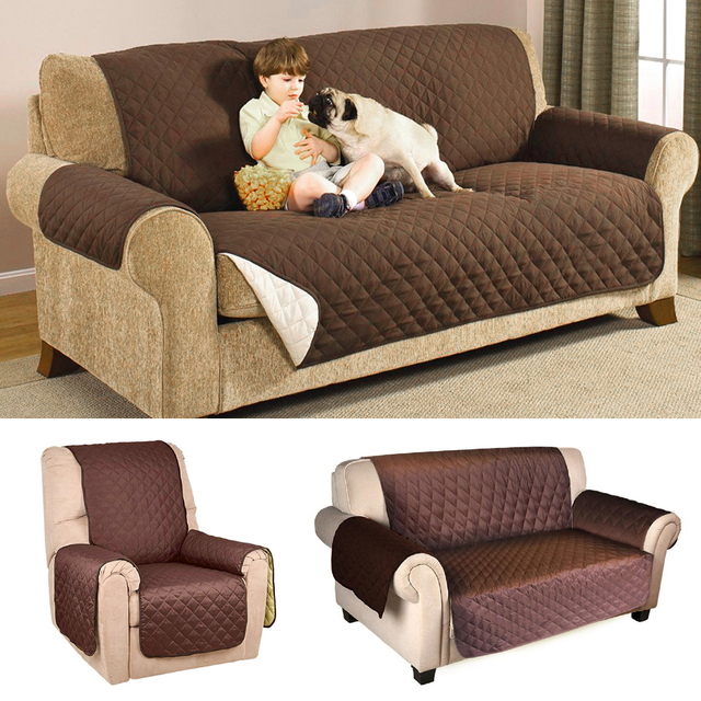 Ordinaire Sofa Cover Protector For Kids Dog/Cat Pets Reversible Furniture Loveseat  Waterproof Seater Chair Covers