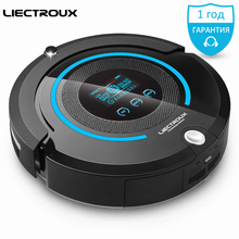 (Ship from RU) LIECTROUX A338 mop home Robot Vacuum Cleaner (Vacuum,Sweep,Mop,Sterilize)dry Schedule,Virtual Blocker,Self Charge