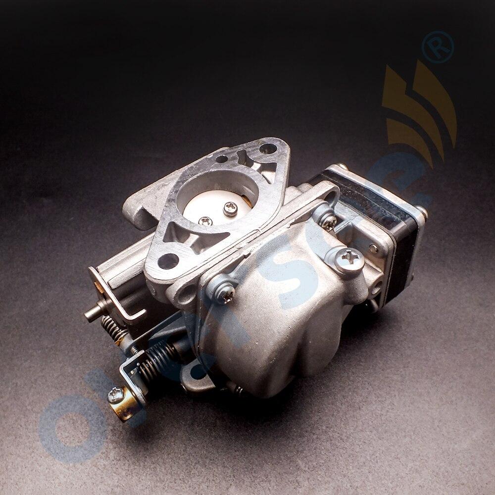 6L5-14301-03 Carburetor Assy For YAMAHA 3HP 2 Stroke Outboard Engine Boat Motor aftermarket parts 6L5 boat motor carburetor assy 6ah 14301 00 6ah 14301 01 for yamaha 4 stroke f20 outboard engine