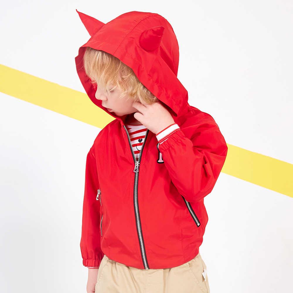 מיני Balabala ילדים קריטר הסווטשרט Jacket פעוטות בני Zip הסווטשרט Jacket סלעית ילדי אביב סתיו להאריך ימים יותר בגדי בגדים