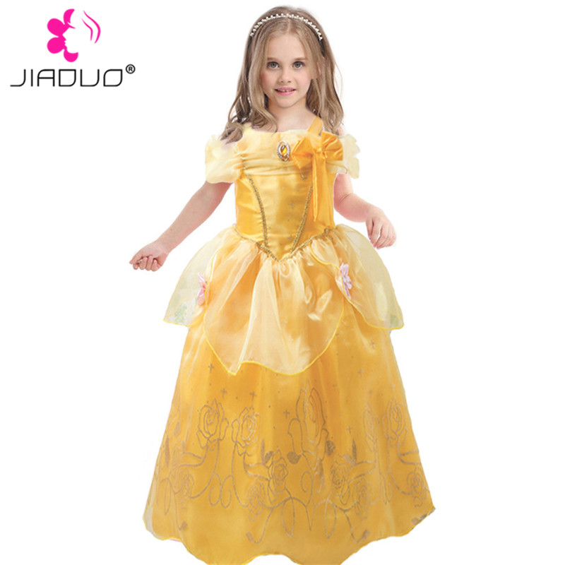JiaDuo Baby Girl Princess Costumes Beauty Belle Dresses Kids ...