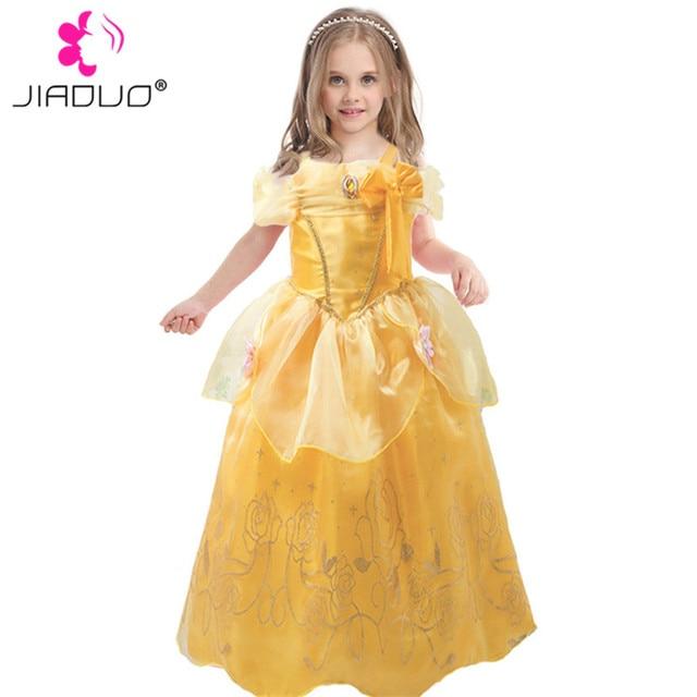 JiaDuo Baby Girl Princess Costumes Beauty Belle Dresses Kids ...