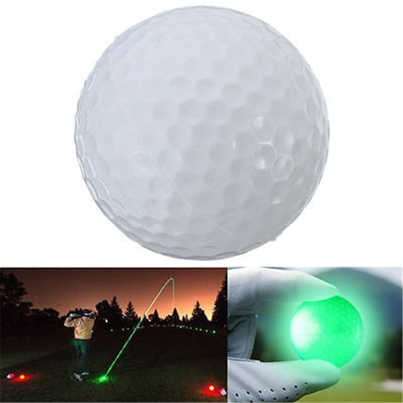 LED Light Up Golf Balls Glow Flashing In the Dark Night Golf Balls 1