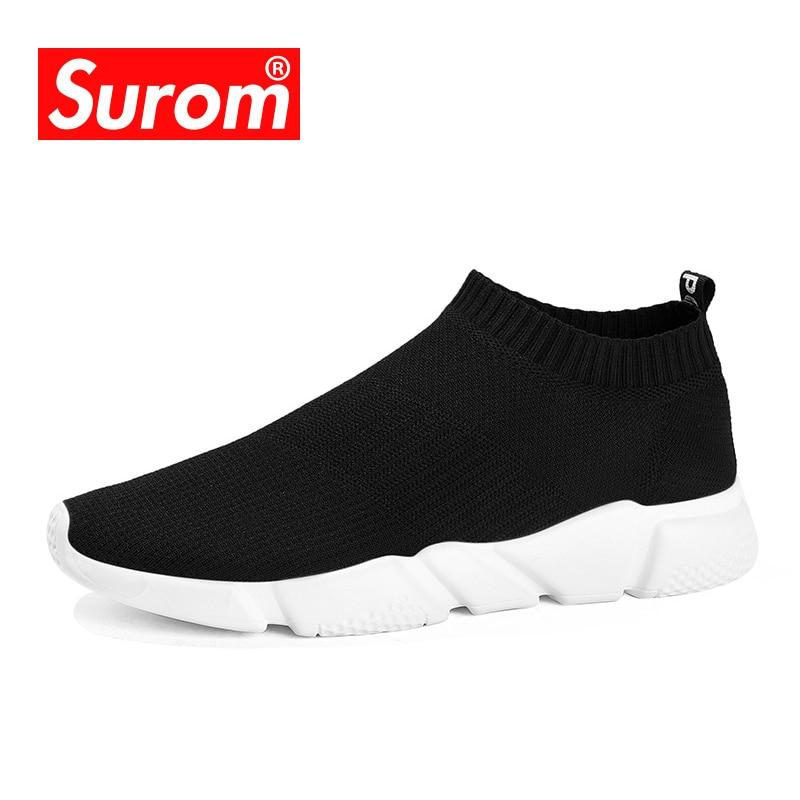 SUROM Brand Summer Men Socks Sneaker