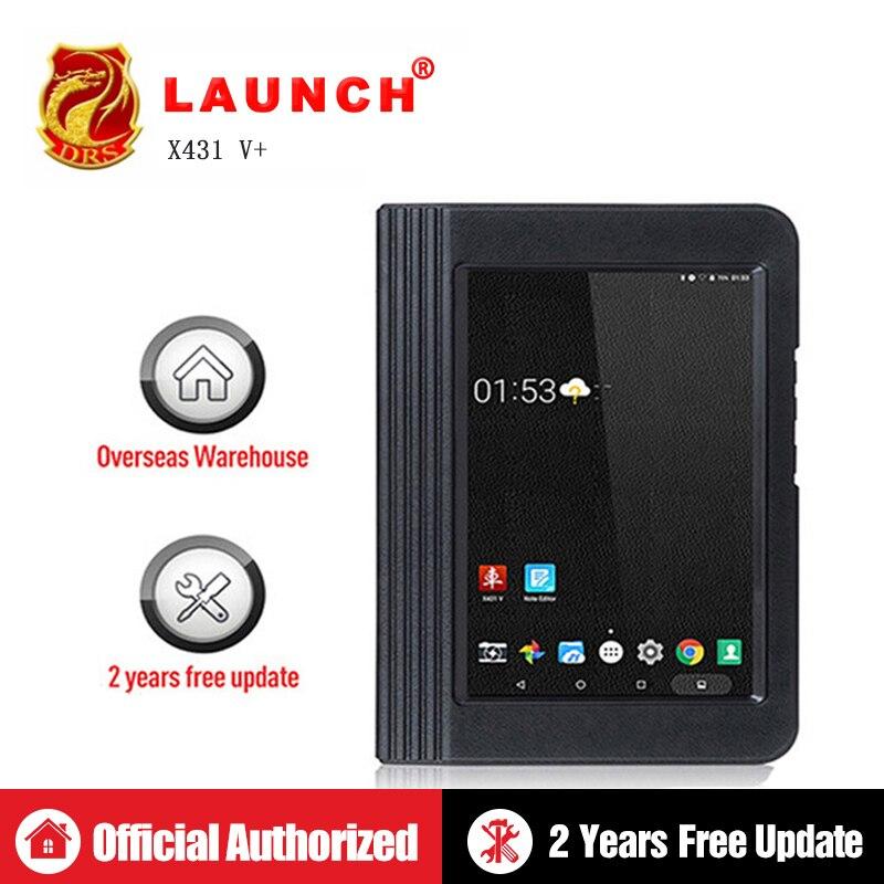 Lanzamiento de X431 V + V Plus herramienta de diagnóstico de OBD2 escáner completo del sistema OBD 2 OBDII Wifi Bluetooth de 2 años actualización gratuita de escáner